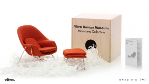 Miniatures Collection – Womb Chair & Ottoman